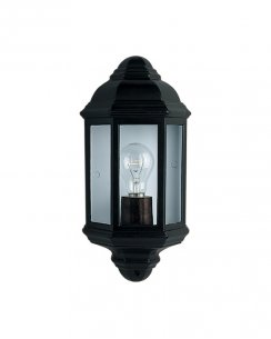 Searchlight 280BK Single Light Traditional Porch Light
