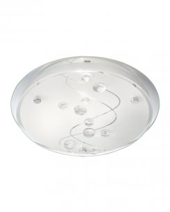 Searchlight 3020-32CC 2 Light Modern Flush Ceiling Fitting