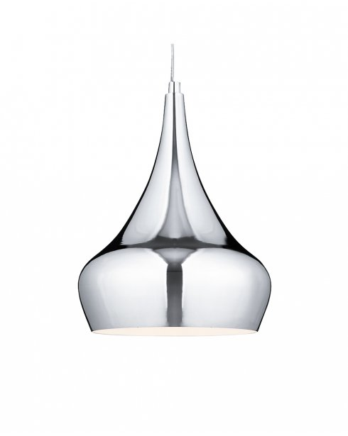 Searchlight 3200CC Single Light Modern Pendant Light