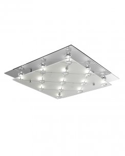 Searchlight 3822CC 13 Light Modern Flush Ceiling Fitting