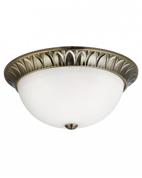 Searchlight 4149-38AB 3 Light Traditional Flush Ceiling Fitting