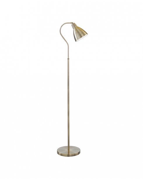 Searchlight 5026AB Single Light Traditional Floor Standing Reading Lamp