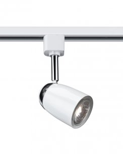 Searchlight 5109WH Single Light Modern Track Light