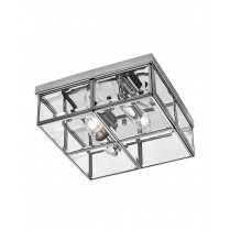 Searchlight 6769-26CC 2 Light Modern Flush Ceiling Fitting