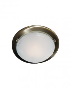 Searchlight 702AB Single Light Modern Flush Ceiling Fitting