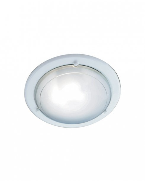 Searchlight 702WH Single Light Modern Flush Ceiling Fitting