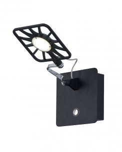 Searchlight 7262BK Single Light Modern Articulated Wall Light