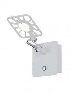 Searchlight 7262WH Single Light Modern Articulated Wall Light