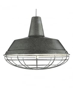 Searchlight 7611SI Modern Silver Pendant Light