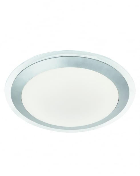 Searchlight 7684-33SI Modern Silver Bathroom Ceiling Fitting