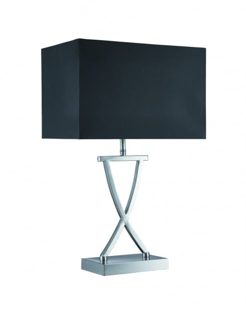 Searchlight 7923SS Modern Steel Incidental Table Lamp