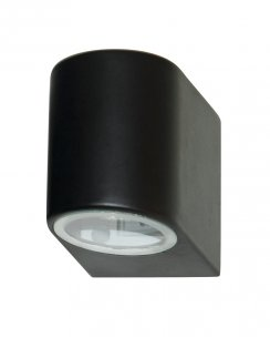 Searchlight 8008-1BK-LED Single Light Modern Porch Light