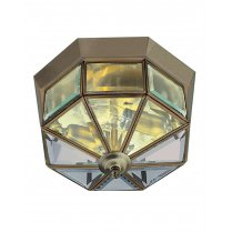 Searchlight 8235AB 2 Light Traditional Flush Ceiling Fitting