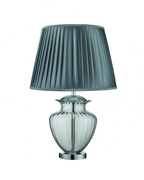 Searchlight 8531SM Traditional Smoked Incidental Table Lamp