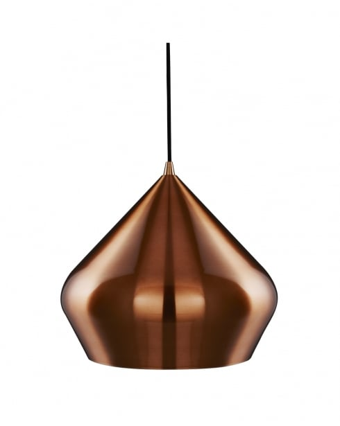 Searchlight 8683CU Modern Copper Pendant Light