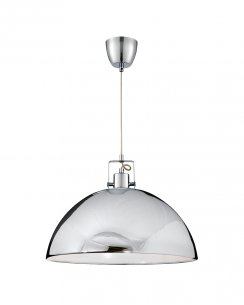Searchlight 9140CC Single Light Modern Pendant Light