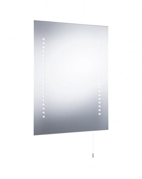 Searchlight 9305 Modern Clear Bathroom Mirror