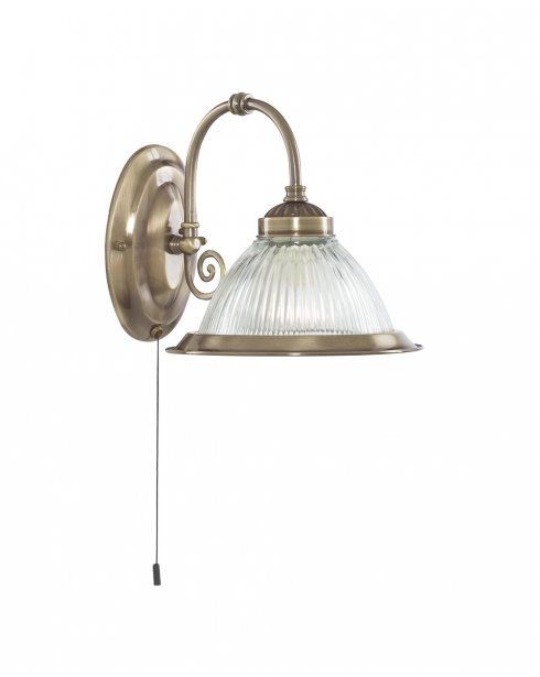 Searchlight American Diner Single Light Traditional Decorative Wall Light 9341-1