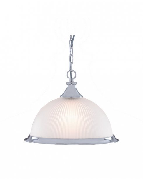 Searchlight American Diner Single Light Traditional Pendant Light 1044