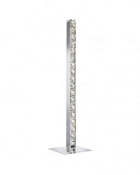 Searchlight Clover Crystal Chrome Incidental Table Lamp 7023CC