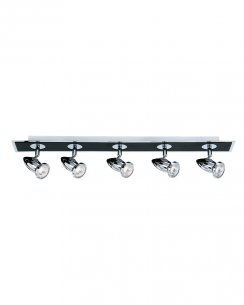 Searchlight Comet 5 Light Modern Spotlight Fitting 7495