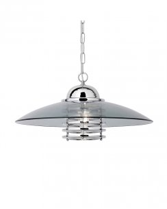 Searchlight Coolie Single Light Modern Pendant Light 1300CC