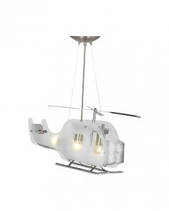 Searchlight Copter 3 Light Novelty Novelty Ceiling Light 639