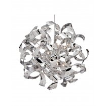 Searchlight Curls 12 Light Modern Pendant Light 9812-12CC