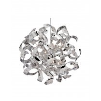 Searchlight Curls 6 Light Modern Pendant Light 5816-6CC
