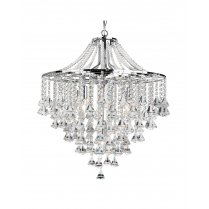 Searchlight Dorchester 5 Light Crystal Pendant Light 3495-5CC