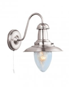 Searchlight Fisherman Single Light Traditional Decorative Wall Light 5331-1SS