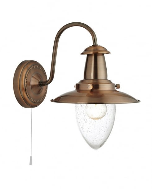Searchlight Fisherman Traditional Copper Decorative Wall Light 5331-1CU