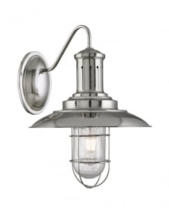 Searchlight Fisherman Traditional Steel Decorative Wall Light 6503SS