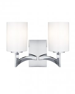 Searchlight Gina 2 Light Modern Decorative Wall Light 4992-2CC