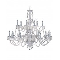 Searchlight Hale 18 Light Crystal Chandelier 17218-18