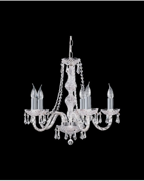 Searchlight Hale 5 Light Crystal Chandelier 215-5