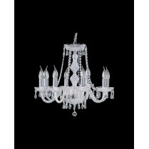 Searchlight Hale 8 Light Crystal Chandelier 218-8