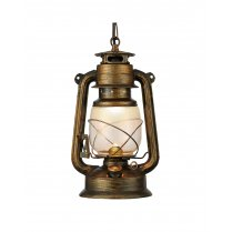 Searchlight Hurricane Single Light Traditional Pendant Light 3841-1BG