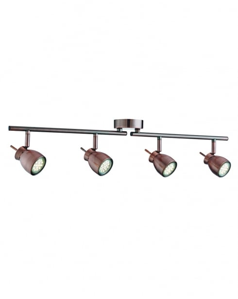 Searchlight Jupiter Modern Copper Spotlight Fitting 8814CU