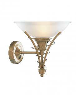 Searchlight Linea Single Light Traditional Decorative Wall Light 5227AB
