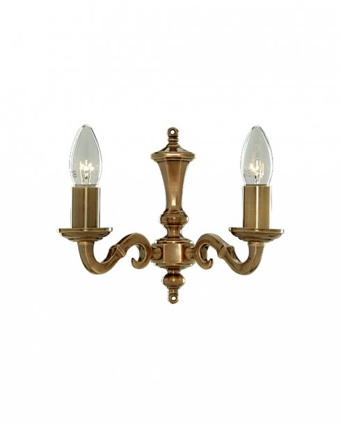 Searchlight Malaga 2 Light Traditional Decorative Wall Light 1072-2NG