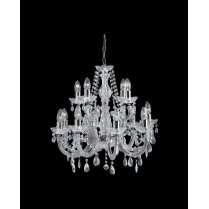 Searchlight Marie Therese 12 Light Crystal Chandelier 399-12