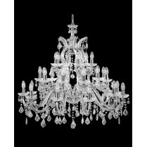 Searchlight Marie Therese 18 Light Crystal Chandelier 3314-30