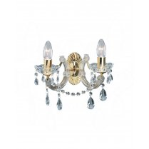 Searchlight Marie Therese 2 Light Crystal Decorative Wall Light 699-2