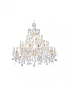 Searchlight Marie Therese 30 Light Crystal Chandelier 1214-30