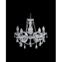 Searchlight Marie Therese 5 Light Crystal Chandelier 399-5