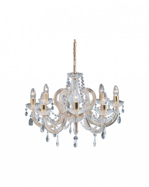 Searchlight Marie Therese 5 Light Crystal Chandelier 699-8