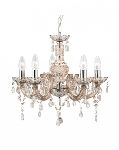 Searchlight Marie Therese 5 Light Traditional Chandelier 1455-5MI