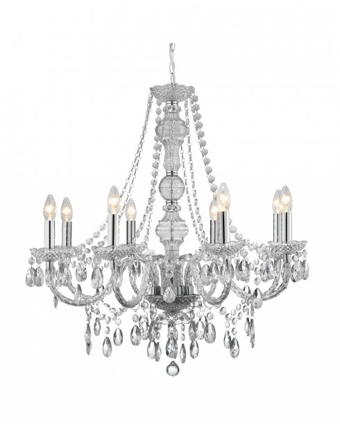 Searchlight Marie Therese 8 Light Traditional Chandelier 8888-8CL