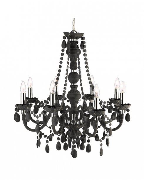 Searchlight Marie Therese 8 Light Traditional Chandelier 8888-8GY